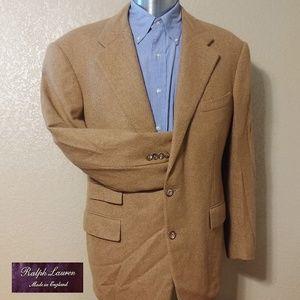 Ralph Lauren Purple Label Camelhair Sport Coat 44R